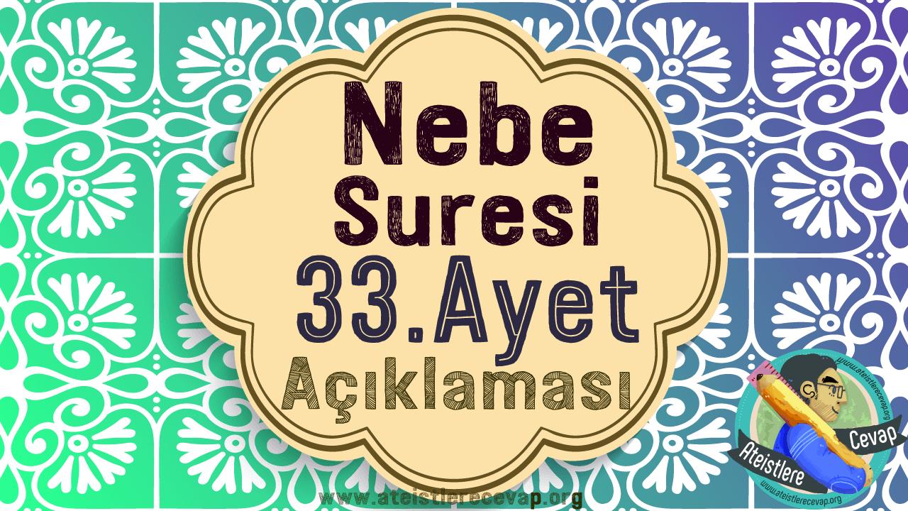 Nebe-suresi-33.-ayet-açıklaması