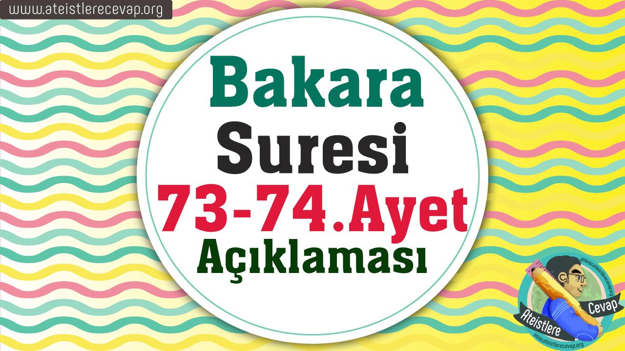 Bakara 73